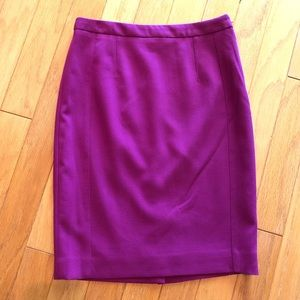 NWT THE LIMITED | Magenta Pencil Skirt Lined 6